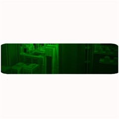 Green Building City Night Large Bar Mats