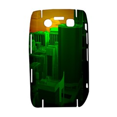 Green Building City Night Bold 9700
