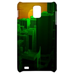 Green Building City Night Samsung Infuse 4G Hardshell Case