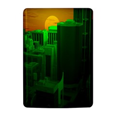 Green Building City Night Kindle 4