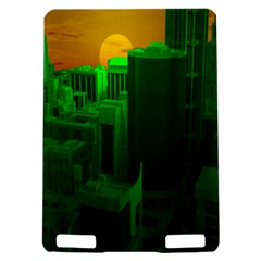 Green Building City Night Kindle Touch 3G