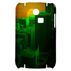 Green Building City Night Samsung S3350 Hardshell Case