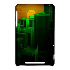 Green Building City Night Nexus 7 (2012)