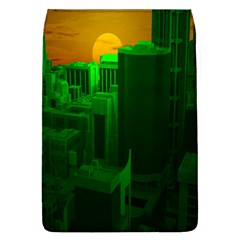 Green Building City Night Flap Covers (L)