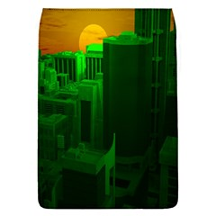 Green Building City Night Flap Covers (S)
