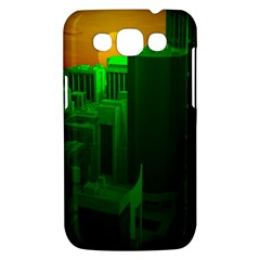 Green Building City Night Samsung Galaxy Win I8550 Hardshell Case