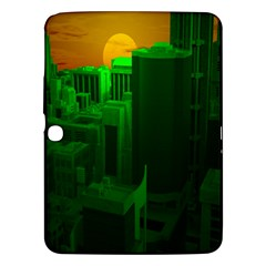 Green Building City Night Samsung Galaxy Tab 3 (10.1 ) P5200 Hardshell Case