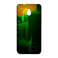 Green Building City Night HTC One Mini (601e) M4 Hardshell Case