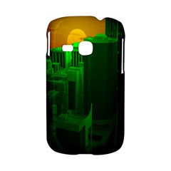 Green Building City Night Samsung Galaxy S6310 Hardshell Case