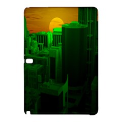 Green Building City Night Samsung Galaxy Tab Pro 12.2 Hardshell Case