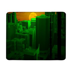 Green Building City Night Samsung Galaxy Tab Pro 8.4  Flip Case