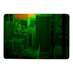 Green Building City Night Samsung Galaxy Tab Pro 10.1  Flip Case