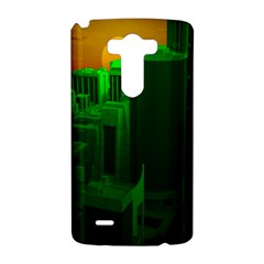 Green Building City Night LG G3 Hardshell Case