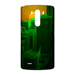 Green Building City Night LG G3 Back Case