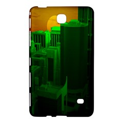 Green Building City Night Samsung Galaxy Tab 4 (8 ) Hardshell Case