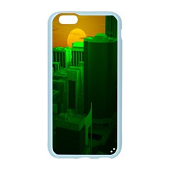 Green Building City Night Apple Seamless iPhone 6/6S Case (Color)