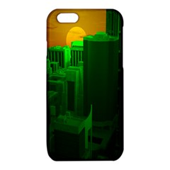 Green Building City Night iPhone 6/6S TPU Case