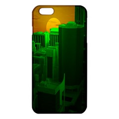 Green Building City Night iPhone 6 Plus/6S Plus TPU Case