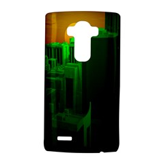 Green Building City Night LG G4 Hardshell Case