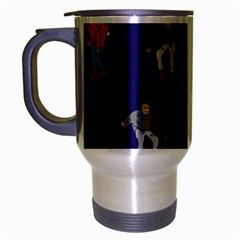 Drake Ugly Holiday Christmas Travel Mug (silver Gray)