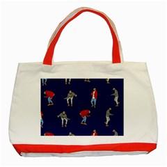 Drake Ugly Holiday Christmas Classic Tote Bag (Red)