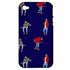 Drake Ugly Holiday Christmas Apple Iphone 4/4s Hardshell Case (pc+silicone)