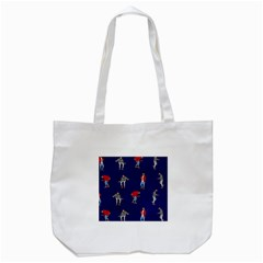 Drake Ugly Holiday Christmas Tote Bag (White)