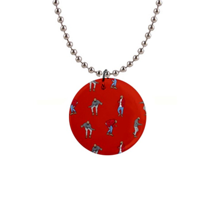 Drake Ugly Holiday Christmas   Button Necklaces