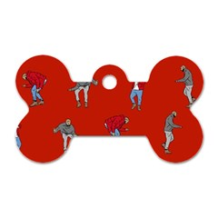 Drake Ugly Holiday Christmas   Dog Tag Bone (One Side)