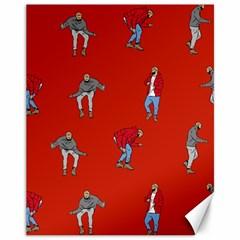 Drake Ugly Holiday Christmas   Canvas 11  X 14