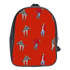 Drake Ugly Holiday Christmas   School Bags(Large)