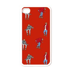 Drake Ugly Holiday Christmas   Apple iPhone 4 Case (White)
