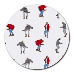 Drake Ugly Holiday Christmas Round Mousepads