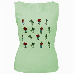 Drake Ugly Holiday Christmas Women s Green Tank Top