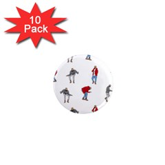 Drake Ugly Holiday Christmas 1  Mini Magnet (10 pack)