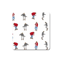 Drake Ugly Holiday Christmas Square Magnet