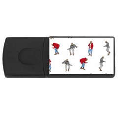 Drake Ugly Holiday Christmas Usb Flash Drive Rectangular (4 Gb)