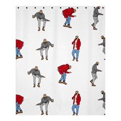 Drake Ugly Holiday Christmas Shower Curtain 60  X 72  (medium)