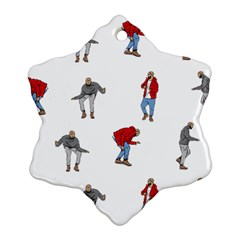 Drake Ugly Holiday Christmas Ornament (Snowflake)