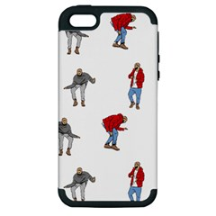 Drake Ugly Holiday Christmas Apple iPhone 5 Hardshell Case (PC+Silicone)