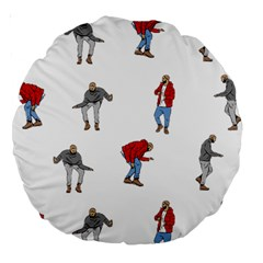 Drake Ugly Holiday Christmas Large 18  Premium Round Cushions