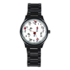 Drake Ugly Holiday Christmas Stainless Steel Round Watch