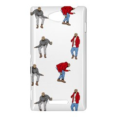 Drake Ugly Holiday Christmas Sony Xperia C (S39H)