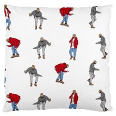 Drake Ugly Holiday Christmas Large Flano Cushion Case (One Side)