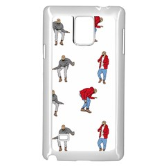 Drake Ugly Holiday Christmas Samsung Galaxy Note 4 Case (White)
