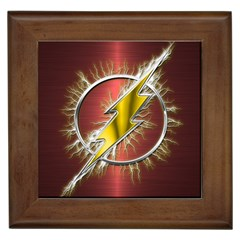 Flash Flashy Logo Framed Tiles