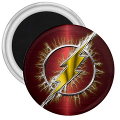 Flash Flashy Logo 3  Magnets