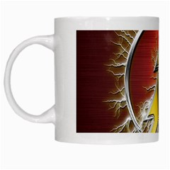 Flash Flashy Logo White Mugs