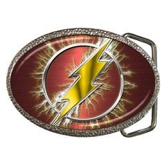 Flash Flashy Logo Belt Buckles