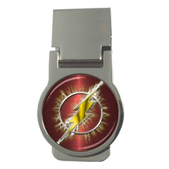 Flash Flashy Logo Money Clips (Round)